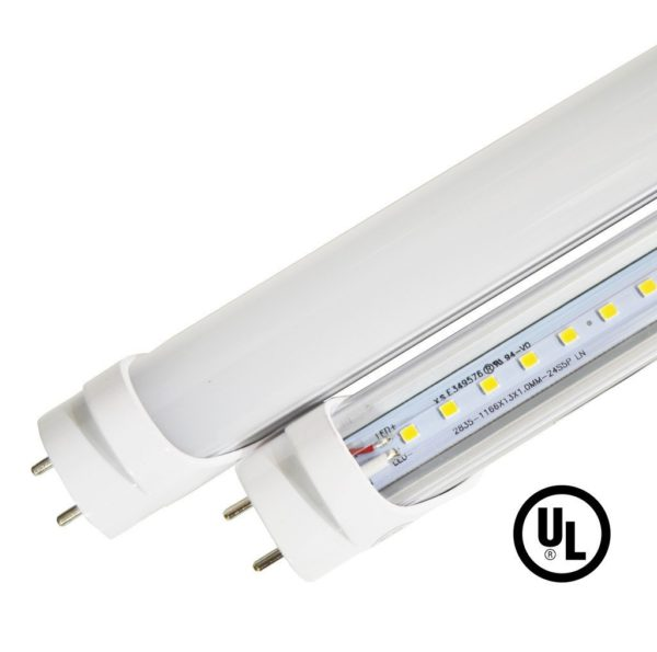 4ft 18W Ballast Compatible & Bypass LED Tube